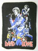 David Bowie - 'Collage' Printed Patch
